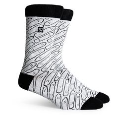 RICHER POORER RP x Shut Athletic Socks Men | White