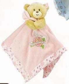 HARLEY-DAVIDSON Baby Bear Blanket - Girl's Pink - Infant Gift