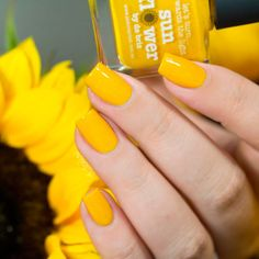 Yellow Nail Designs for Long Nails picture 2