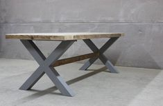 Reclaimed Dining Table With Rustic Wood Top (King's Cross) Reclaimed Wood Dining Table, Dining Table Legs, Oak Table, Rustic Table, Rustic Wood, Dining Room, Diy Esstisch, Modern Farmhouse Table, Table Plans