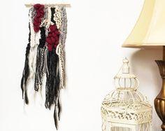 SALE - Weaving | Wall Hanging | Yarn Art | Ice Princes