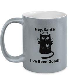 Gift Mugs, Gifts In A Mug, Novelty Gifts, Metallic, Santa, Xmas, Good Things, Tableware, Prints