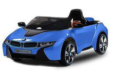 Lizenz Kinderauto BMW I8 2x 35W Motor Elektroauto Kinderfahrzeug IR Elektro