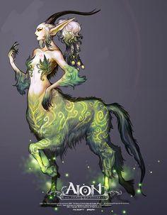 Female Green Centaur #Mythology #Centaur a new twist .. on a old legend..