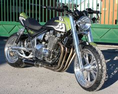 1993 Kawasaki ZR1100 (Zephyr) - Zephyr 1100 Green Dream