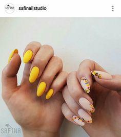 The Best Nail Art Designs – Your Beautiful Nails Cute Acrylic Nails, Cute Nails, Pretty Nails, Acrylic Nail Shapes, Spring Nails, Summer Nails, Hair And Nails, My Nails, Nail Manicure