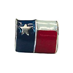 Zable Sterling Silver Enameled Texas Flag Bead * Learn more by visiting the image link.