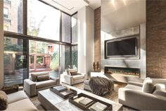 1839 Georgian Townhouse converted in luxury home in Greenwich Village, NYC by developer William Rainero