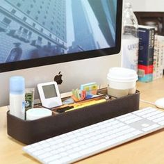 Learn more about the Leather Desk Organizer Tray v1!