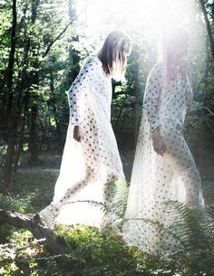 """Caroline Arvidsson wearing Louise Boye Andersenby Carsten Bundgaardin """"Between Dream and Reality"""" for thisispaper"""
