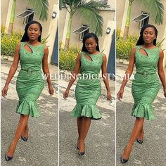 Weekend Special: The Latest Must Have Breathtaking Ankara Styles - Wedding Digest Naija Latest African Fashion Dresses, African Dresses For Women, African Attire, African Wear, African Women, African Print Clothing, African Print Dresses, African Print Fashion, Africa Fashion