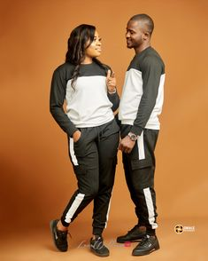 When a couple choose to wear matching outfits, we term this 'and co'. See 20 couples who wore matching outfits at their pre-wedding shoot Matching Outfits, Wedding Shoot, Real Weddings, African, Cool Stuff, How To Wear, Couple Outfits, Recipes, Matching Couple Outfits