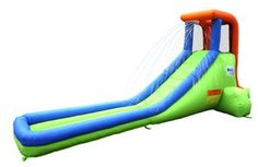 Bounceland Inflatable Bounce House Single Water Slide $229