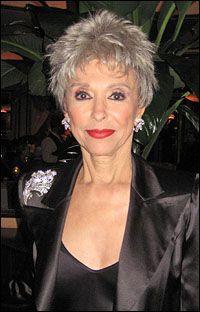 Rita Moreno wearing Jose and Maria Barrera jewelry