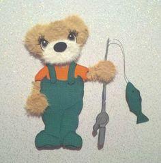 Search tear bear kira on ebay!!!    CUSTOM FISHING BOY OR GIRL BEAR IN WADERS SUMMER SPRING TEAR BEAR  *KIRA* AP4P