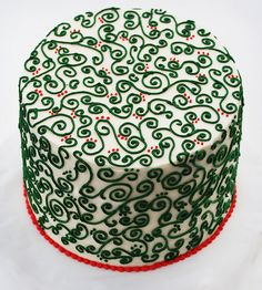 love this cake!  it's so festive