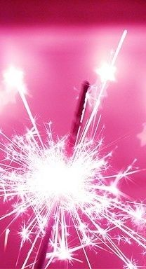 Pink sparkler  #pink #color #colours