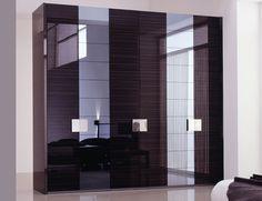 Elegant Furniture Bedroom Design With Corner Wardrobe Elegant