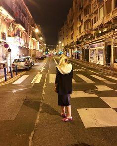 Есть свои плюсы в низкий сезон: можно стоять на перекрёстке в час пик #Nice #France by babo4ka at http://ift.tt/1hCWVmI