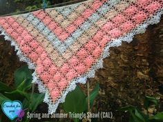 Spring and Summer Triangle Shawl (CAL)