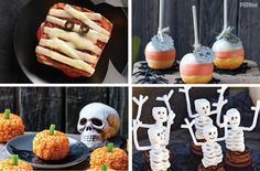Halloween can be so much more than store-bought candy. Here are some boo-tiful recipes that will get your family in the spirit.
