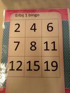 Rekenen: erbij 1 bingo