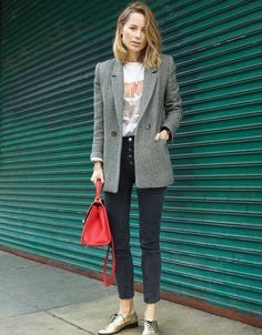 Pinterest : 20 façons de porter le blazer cet automne | Glamour