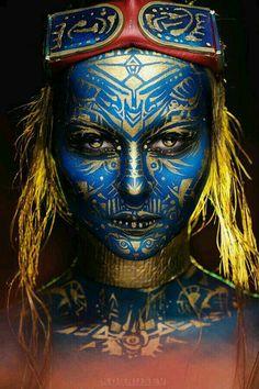 Tribal Makeup inspiration