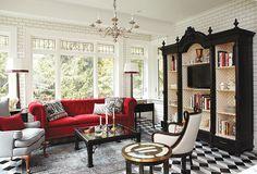 See Stunning Spaces By Sarah Richardson Design