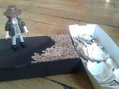 Eggshell box - in progress