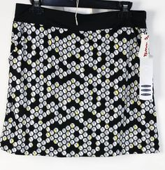NWT Callaway Caviar Colored Polyester Geo Printed Waist Band Sports Skirt M #Calloway #Unavailable