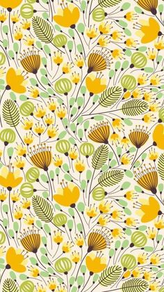 Elegant banner with orange flowers vector illustration Yellow and green flower pattern. The post Elegant banner with orange flowers vector illustration appeared first on Easy flowers. Flower Pattern Drawing, Flower Pattern Design, Pattern Art, Flower Patterns, Yellow Pattern, Flower Illustration Pattern, Pattern Design Drawing, Pattern Illustrations, Pattern Ideas