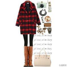 格子格子格子 Polyvore, Outfits, Image, Fashion, Clothes, Moda, Suits, Fasion, Outfit