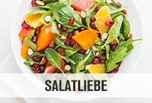 Wir lieben Salat! Ob kalt oder warm, mit oder ohne Superfoods: Lasse dich von leckeren und gesunden Rezepten inspirieren! #salat #nu3 #gesund #gesundessen