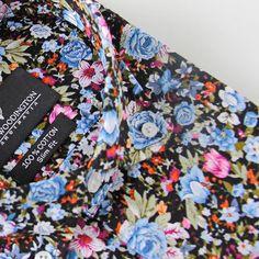 The Venize floral button-down shirt :necktie::point_up_2: