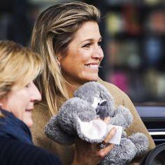 12-11-2014  Queen Maxima visit the plenary program of Villa Joep in Amsterdam.