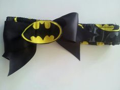 Batman Bow Headband