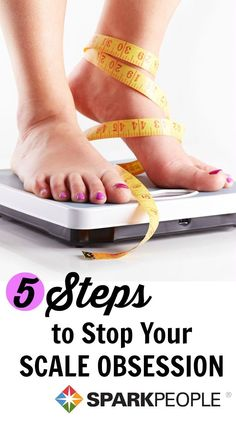 Are you obsessed with your scale? Maybe it's time to ditch it! Break free from the scale with these 5 steps. Your body and mind will thank you!