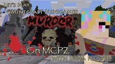 Let's Play Minecraft Minigames! There are murderers everywhere! Murder is a really popular Minecraft minigame and it's now availa. How To Play Minecraft, Minecraft Party, Lets Play, Let It Be, Movie Posters, Friends, Boyfriends, Film Posters, Billboard