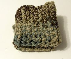 Earth Ombre Crochet Cozy Mat Dish Rug Pot Holder Hot Pad Dish Cloth | KallieJosCottonPatch - Crochet on ArtFire