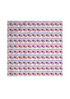 Silk Square Scarf - United States Of America in Blue/Purple/Red by VIDA Original Artist Vida Design, Square Scarf, Original Art, Unique, United States, America, Silk, Usa, Silk Sarees