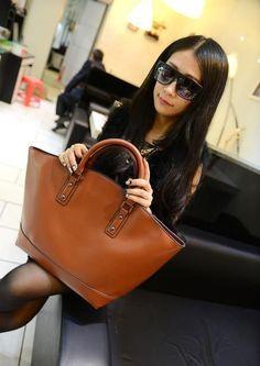 Belt Shoulder Designer Zipper Large Handbag