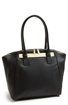 Vince Camuto 'Jace' Leather Tote available at #Nordstrom