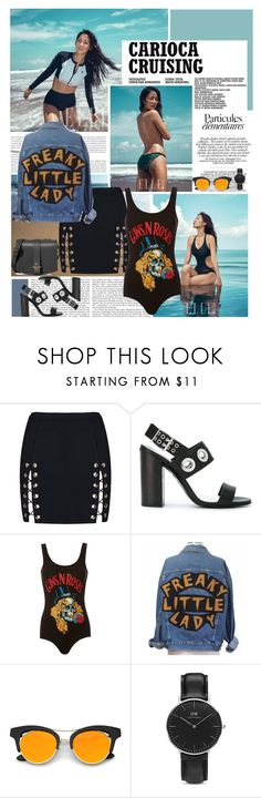 """""""That's All I Wanna Teel You About"""" by karydkaulitz ❤ liked on Polyvore featuring Diesel, MadeWorn, Daniel Wellington, Haerfest, sun, kpop, sumer and sistar"""