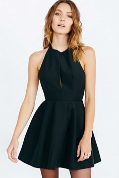 Cute black dress :) Maybe also velvet in a burgundy or a navy/royal blue???