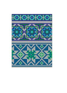 "Photo from album ""Скандинавские узоры"" on Yandex. Knitting Charts, Knitting Stitches, Knitting Patterns, Tapestry Crochet Patterns, Bead Loom Patterns, Crochet Chart, Filet Crochet, Cross Stitch Designs, Cross Stitch Patterns"