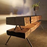 UTD - Unite Two Design - Archived design using reclaimed wood + steel