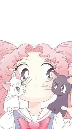 Chibiusa Tsukino ~ Luna and Artemis