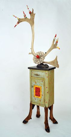 Game Table, BB McIntyre, Assemblage