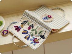 Moldes para Artesanato em Tecido: Capa para Cadernos e Agendas